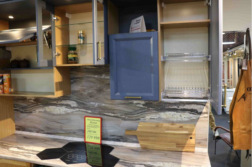 Кухня из массива Ясеня 3,0 м.